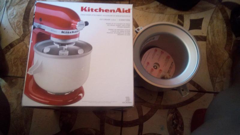 White Ice Cream Maker Kica0wh Kitchenaid
