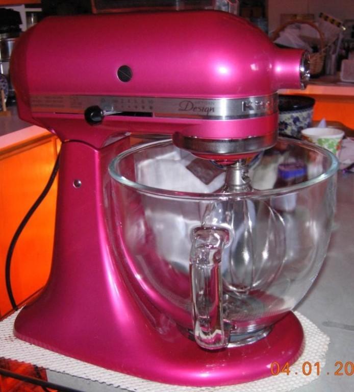 Silk Pink Artisan Design Series 5 Quart Tilt Head Stand Mixer With
