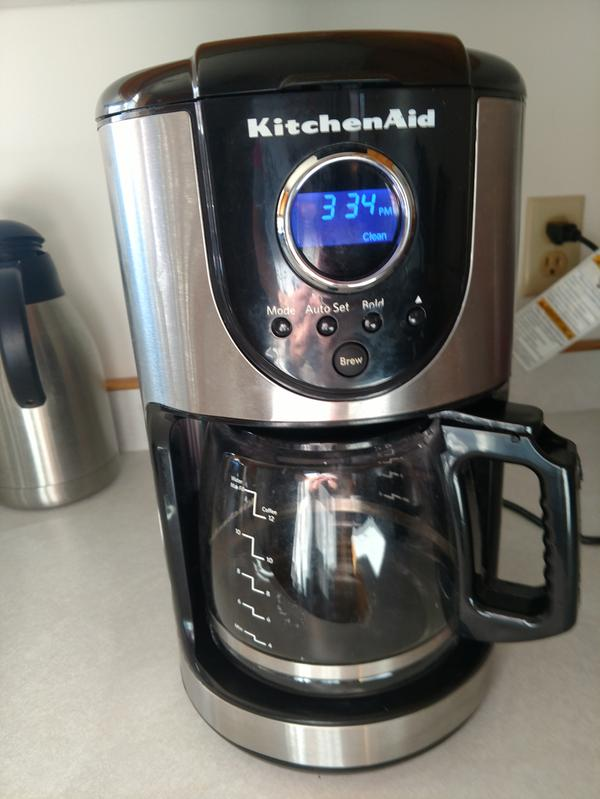 Onyx Black 12 Cup Coffee Maker KCM111OB | KitchenAid