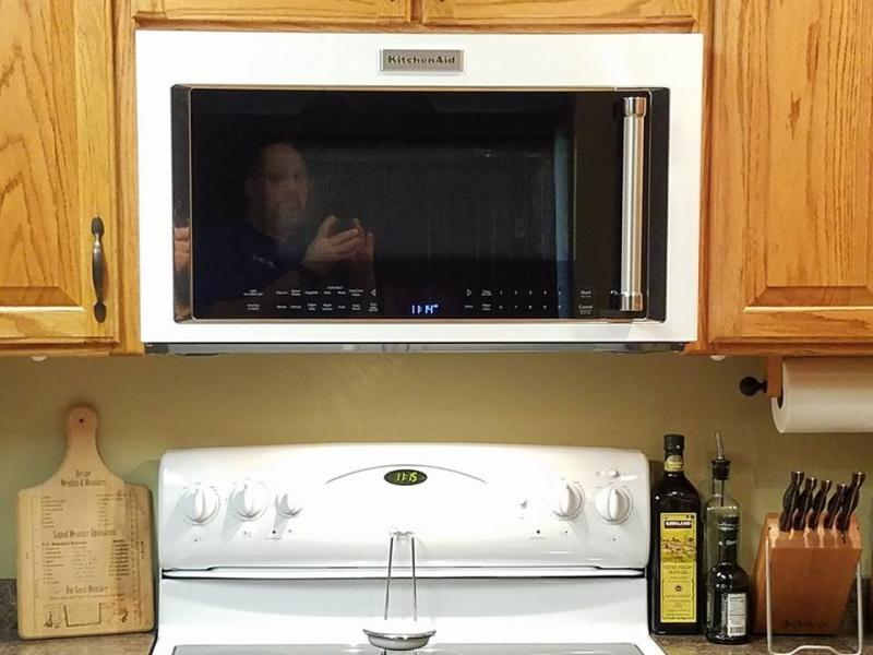 black stainless 1000 watt convection microwave hood combination rh kitchenaid com