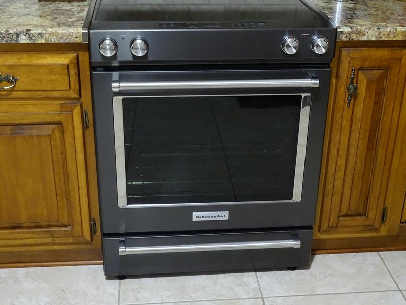 Stainless Steel 30 Inch 5 Element Electric Slide In Convection Range