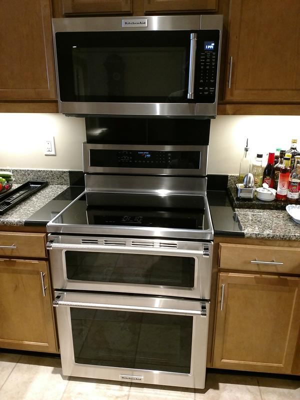 New Kitchenaid Induction Range With Double Ovens
