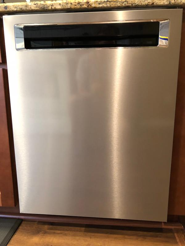 Stainless Steel With Printshield Finish 39 Dba Dishwasher With Fan