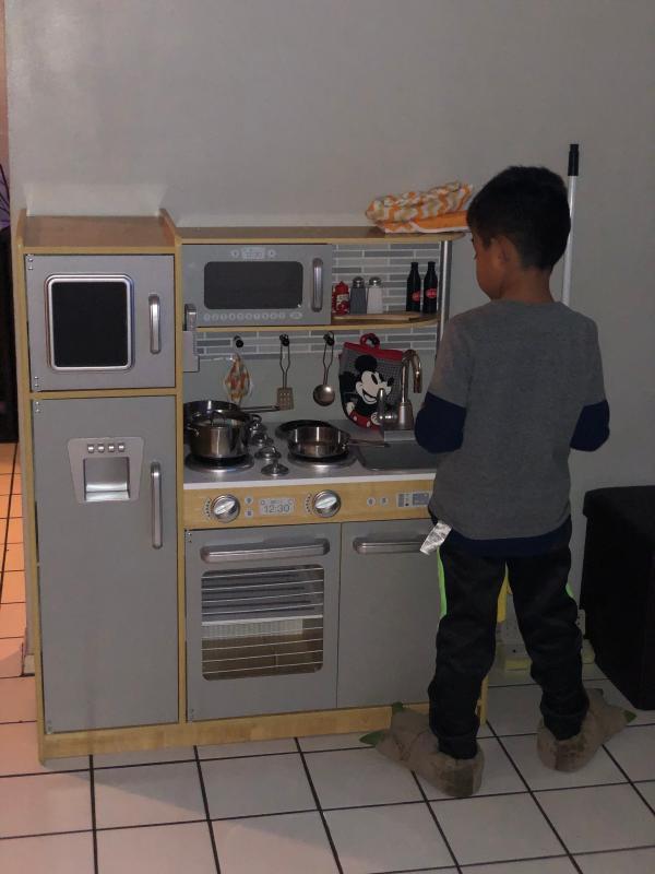 KidKraft Uptown Espresso Kitchen Playset 53260 at The Home ...