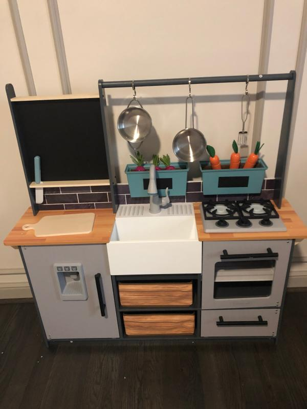 Fred Meyer Kidkraft Farm To Table Play Kitchen With Ez Kraft Assembly 1