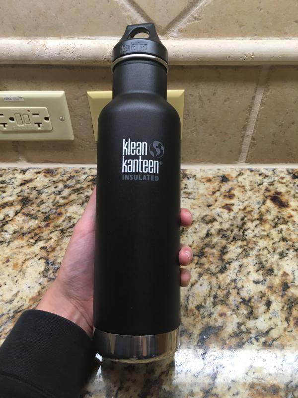 Insulated Water Bottle 20oz, Stainless Steel Bottle | Klean Kanteen