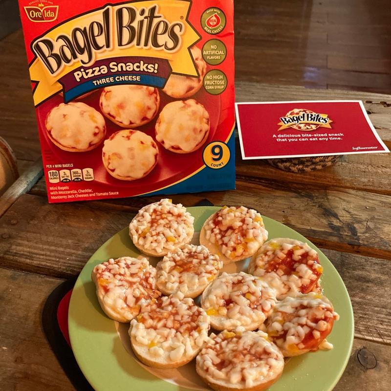 Kroger Bagel Bites Three Cheese Pizza Snacks Family Size 24 Ct 18 6 Oz