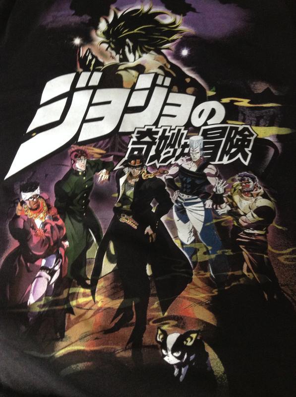 JoJo's Bizarre Adventure: Stardust Crusaders Joestar Group T-Shirt