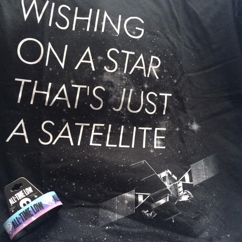 All Time Low Satellite T-Shirt | Hot Topic