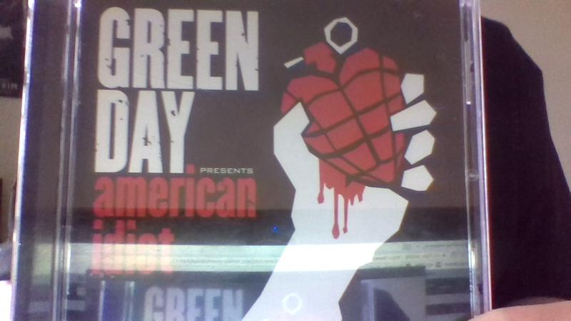 845a9a09 Green Day American Idiot T-Shirt