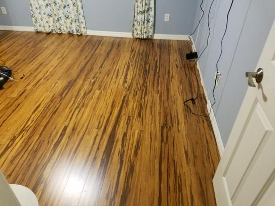 Home Decorators Collection Strand Woven Honey Tigerstripe 3 8 In T X 5 1 8 In W X 72 In L Engineered Click Bamboo Flooring Hd13005a At The Home Depot Mobile