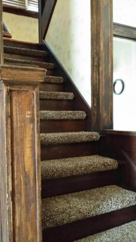 Simply Seamless Posh Toasted Taupe 10 In X 31 Modern Bullnose Self Sticking Stair Tread Bfpstt31bn At The Home Depot Mobile