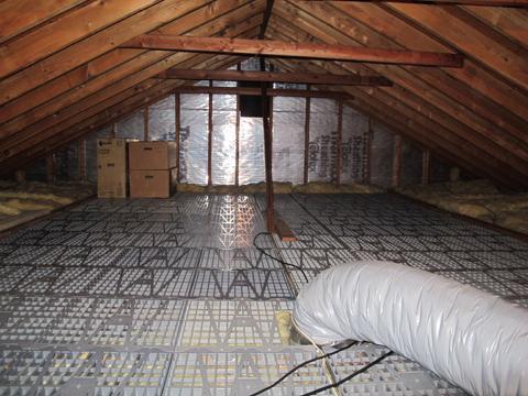Attic Dek 16 In X 16 In On Center Attic Flooring Panels 20 Pack