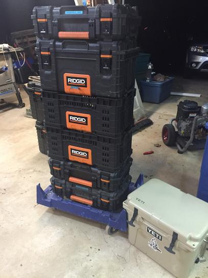 Ridgid 22 In Pro Box Black 226036 At The Home Depot Mobile