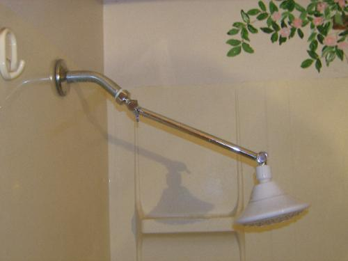 Delta 10-4/5 in. Adjustable Shower Arm in Chrome UA902-PK at The ...