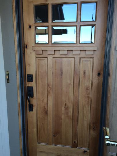 Pacific Entries 36 In X 80 In Craftsman Rustic 6 Lite Stained