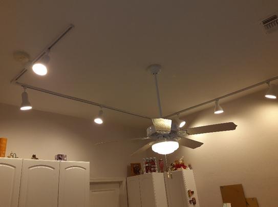 Hobby Room Track Lights