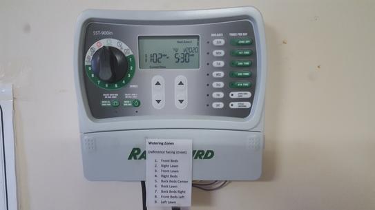 SST600IN Irrigation Timer Indoor 6-Station