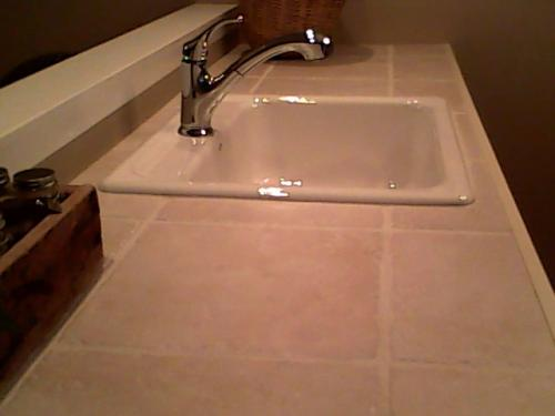 KOHLER Mayfield Drop In Cast Iron 25 In. 3 Hole Single Bowl Kitchen Sink In  Almond K 5964 3 47   The Home Depot