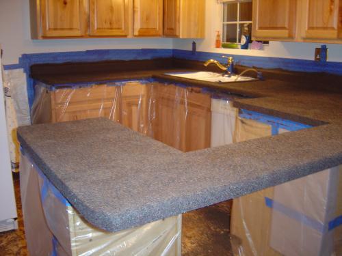 Rust Oleum Transformations Large Java Stone Countertop Kit Covers