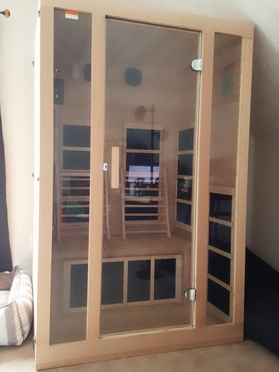 JNH Lifestyles Joyous 2-Person Far Infrared Sauna MG215HB at The
