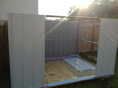 Arrow Newport 10 Ft X 8 Ft Steel Shed Np10867 At The
