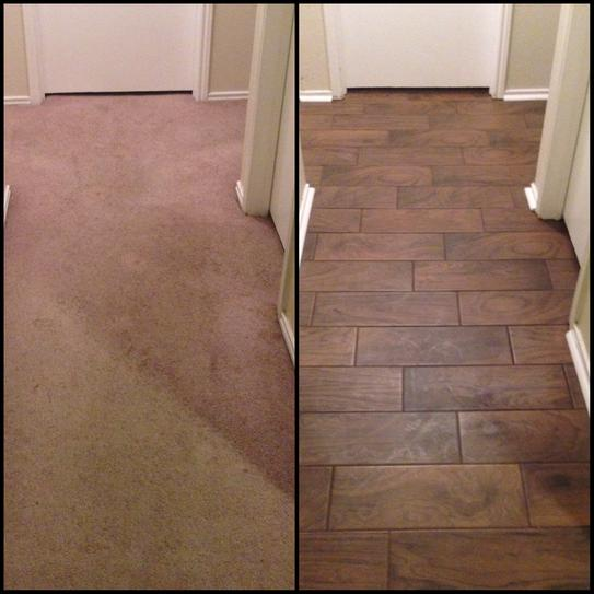 Daltile Parkwood Brown In X In Ceramic Floor And Wall Tile - Dal tile long island