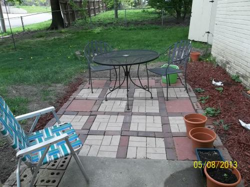 Ordinaire Nice Plastic Brick Pattern Resin Patio Pavers (12 Pack) 2156HD At The Home  Depot