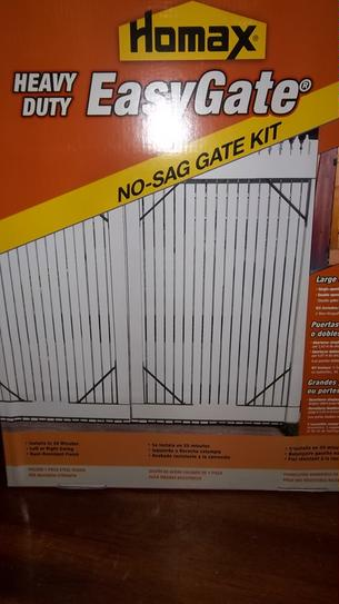 Homax Easygate Heavy Duty No Sag Fence Gate Bracket Kit