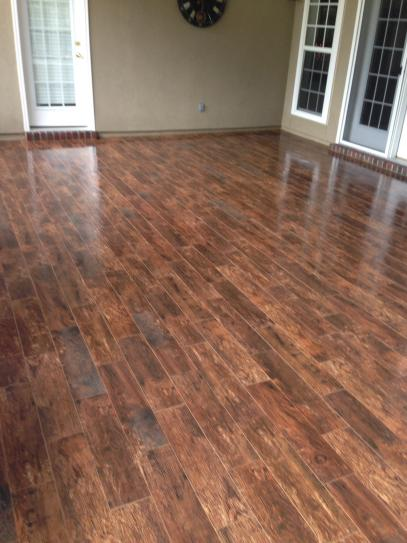 MSI Redwood Mahogany 6 In X 24 Glazed Porcelain Floor And Wall Tile 969 Sq Ft Case NREDWMAH6X24 At The Home Depot