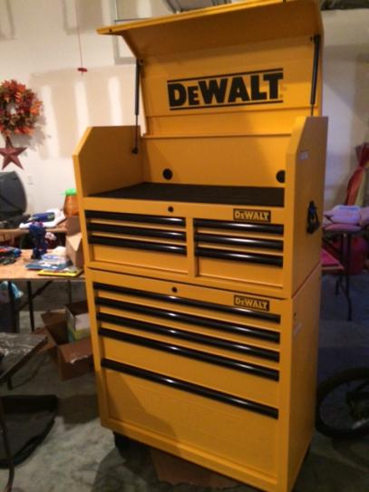 Dewalt 36 In 5 Drawer Rolling Bottom Tool Chest Yellow