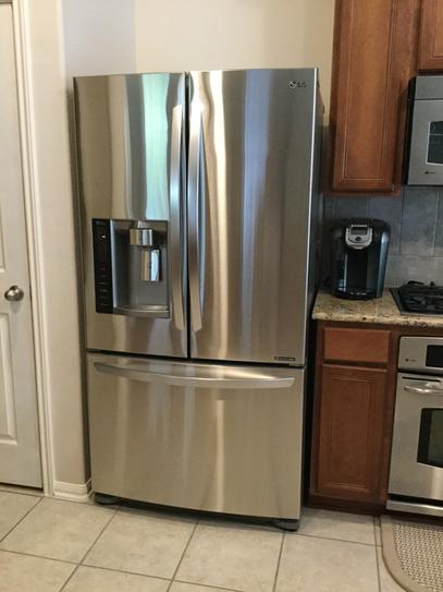 LG Electronics 19.8 Cu. Ft. French Door Refrigerator In Stainless Steel, Counter  Depth LFX21976ST At The Home Depot   Mobile