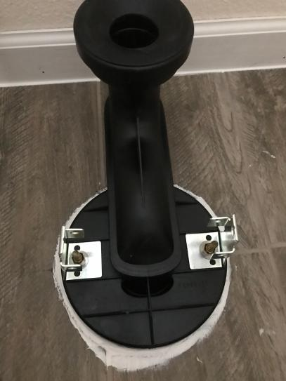 This is the Kohler two piece system. I like that you can see the wax ring installation easily.