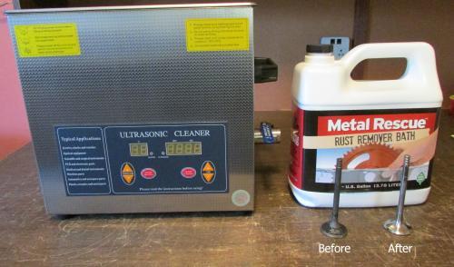 Workshop Hero 1 Gal  Metal Rescue Rust Remover Bath