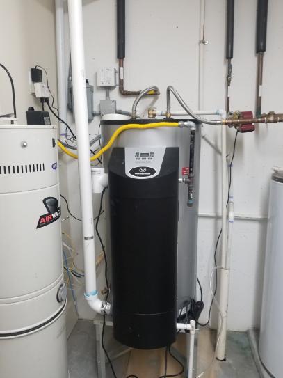Westinghouse condensing water heater