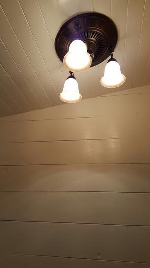 Hunter Garden District Decorative Brushed Nickel 70 CFM Ceiling ...