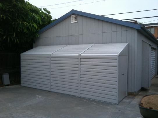 Good Arrow Yard Saver 4 Ft. X 10 Ft. Metal Storage Building YS410 At The Home  Depot   Mobile