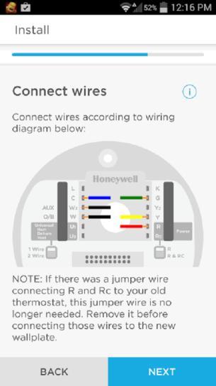 honeywell lyric thermostat wiring diagram honeywell lyric wi fi programmable thermostat rch9300wf at the  honeywell lyric wi fi programmable