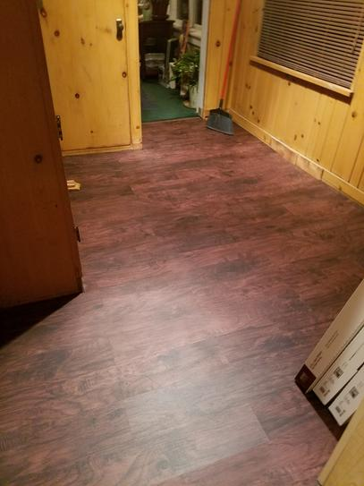 Home Decorators Collection Java Hickory 7 Mm Thick X 2 In Wide X 94 In Length Coordinating Vinyl 3 In 1 Molding St 60199 At The Home Depot Mobile