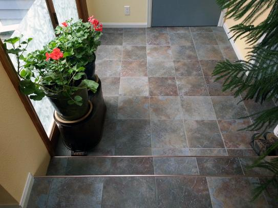 Daltile Continental Slate Asian Black In X In Porcelain Floor - Daltile nashville tn