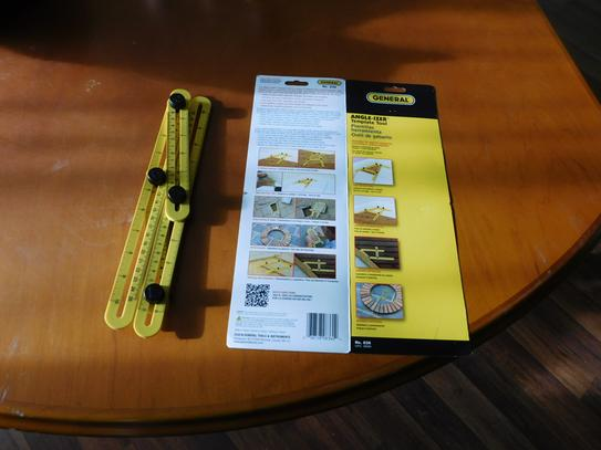 General Tools Angle Izer Ultimate Tile Flooring Template Tool 836