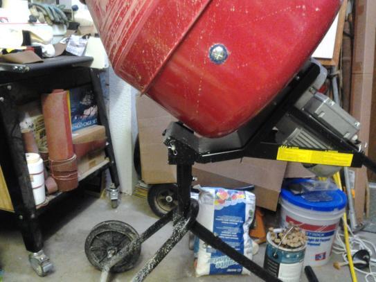 Proforce 1 2 Hp Portable Cement Mixer