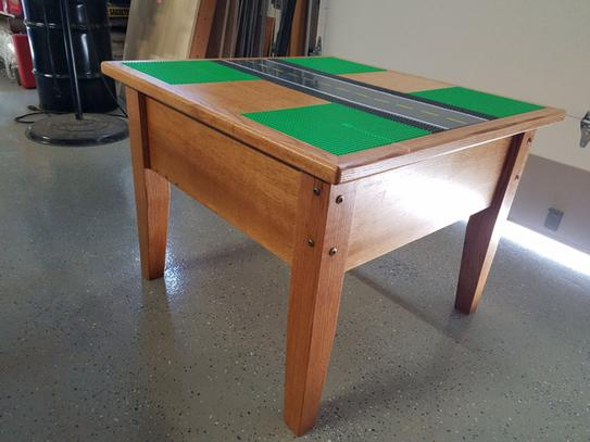 Lego Table with GRK Fasteners