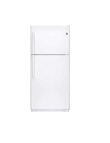GE 18.2 Cu. ft. Top Freezer In White