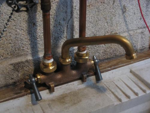 Central Brass Cast Brass Laundry Faucet 0465 at The Home Depot - Mobile