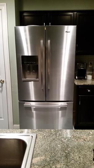 My new Amana French Door Refrigerator