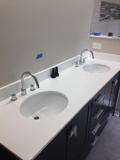 Glacier Bay Dorset 8 in. Widespread 2-Handle High-Arc Bathroom ...