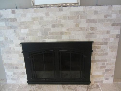 Pleasant Hearth Fieldcrest Large Glass Fireplace Doors Fc 5904 At