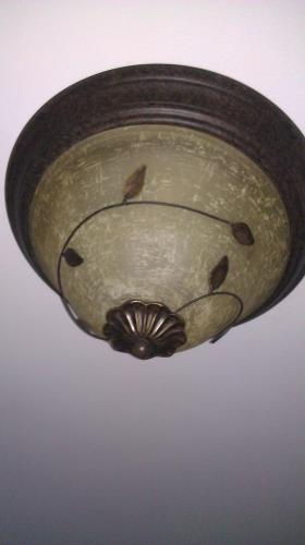 Progress Lighting Eden Collection Forged Bronze 3 Light Flushmount Discontinued P3439 77 At The Home Depot Mobile