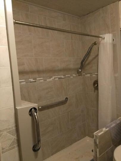 Bootz Industries ShowerCast 60 in. x 30 in. Single Threshold Shower ...